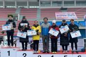 논산시청 육상 팀 국제마라톤대회서 쾌거