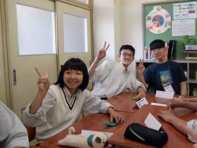 건양중, 일본 현지중학교와의 교류활동…NHK 방송 화제