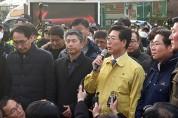 """양승조 지사, 문 대통령에 """"아산 경제 활성화 지원과 격려 방문해 줄 것"""" 요청"""